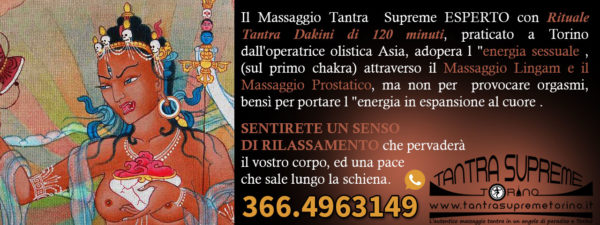 massaggi tantra dakini studio olistico torino